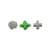 Magnetische Knoppen voor Microsoft Xbox One Controller