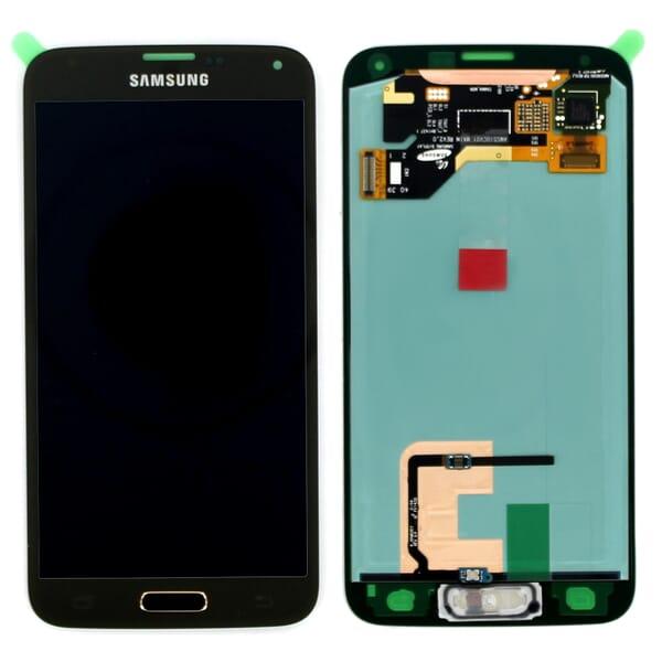 Samsung Galaxy S5 LCD + Touchscreen Goud