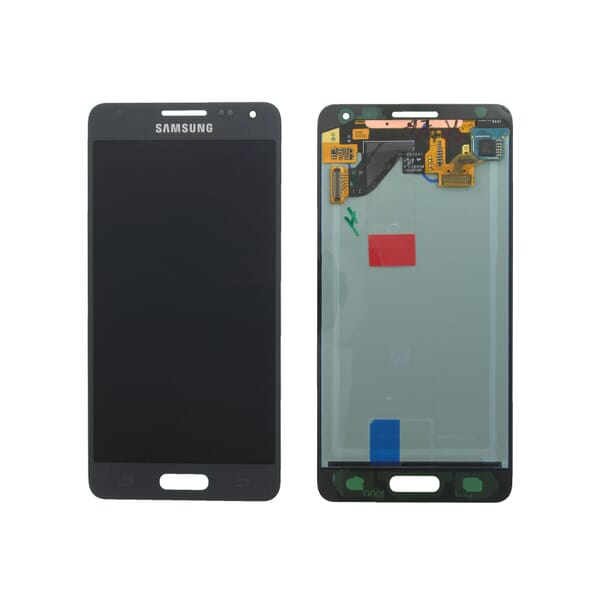 Samsung Galaxy Alpha LCD + Touchscreen - Zwart