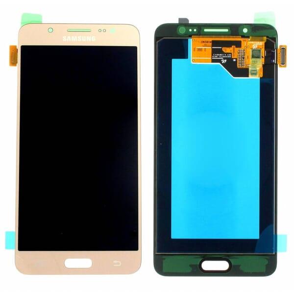 Samsung Galaxy J5 2016 LCD + Touchscreen - Goud