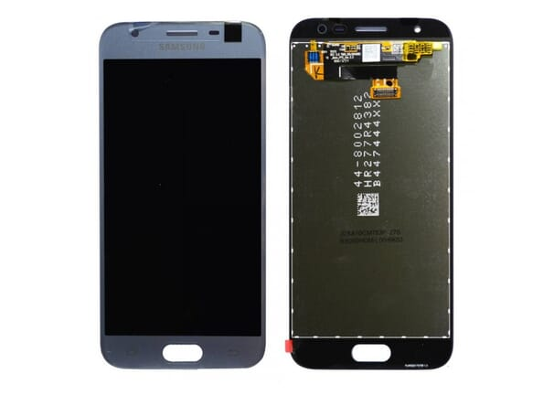 Samsung Galaxy J3 (2017) LCD + Touchscreen - Zilver voor Samsung Galaxy J3 (2017) SM-J330F