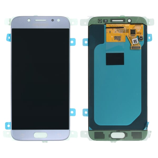 Samsung Galaxy J5 2017 LCD + Touchscreen - Blauw/Zilver