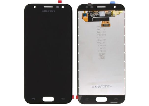 Samsung Galaxy J3 (2017) LCD + Touchscreen - Zwart voor Samsung Galaxy J3 (2017) SM-J330F