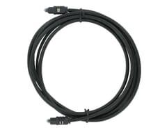 Toslink Optische Audio Kabel 1 Meter - Zwart
