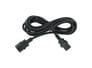 IEC320-C13 naar C14 Stroomverlengkabel 3 Meter - Zwart