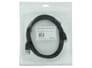 USB2.0 A naar USB2.0 Micro B Kabel 2 Meter - Zwart voor Toshiba Satellite L670D-120