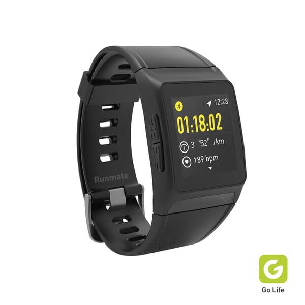SBS Mobile Runmate GPS Touchscreen Fitness Horloge - Zwart