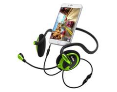SBS Mobile Gaming On-Ear Koptelefoon - Zwart/Groen