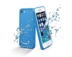 SBS Mobile Waterdichte Case iPhone 8/7 -Transparant/Blauw