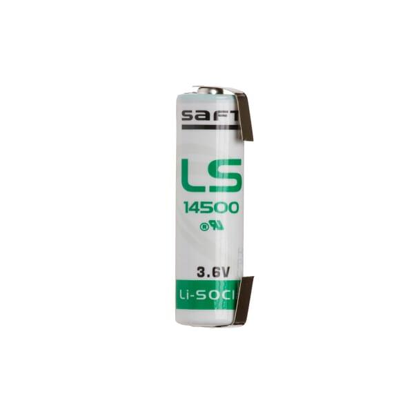 Saft AA LS14500 3.6V Lithium U-tags
