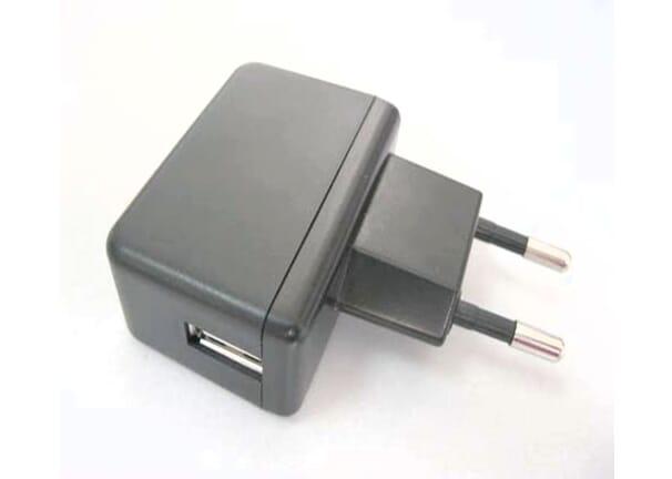 USB Adapter 5V 2A Zwart 5V - 2A