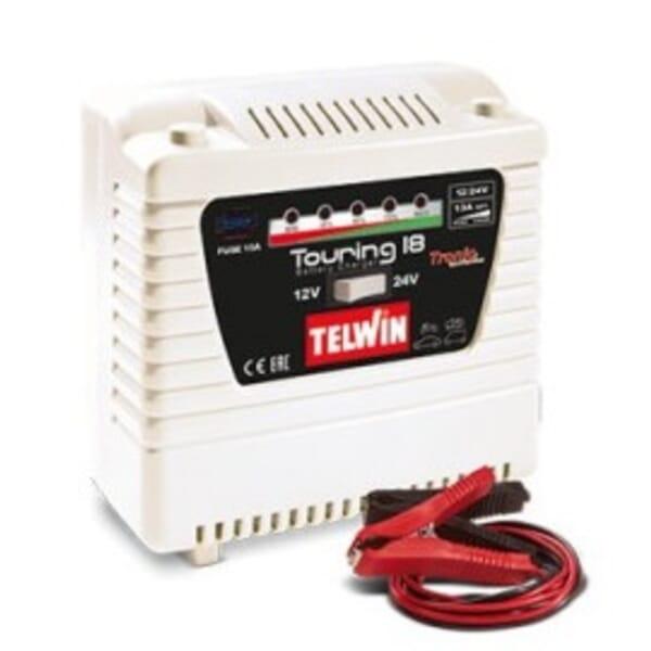 Telwin Touring 18 230v 12V/24V Acculader
