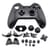Behuizing Zwart voor Microsoft Xbox One Controller V1
