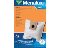 Menalux 2000 : 5 Dustbags + 1 Microfilter