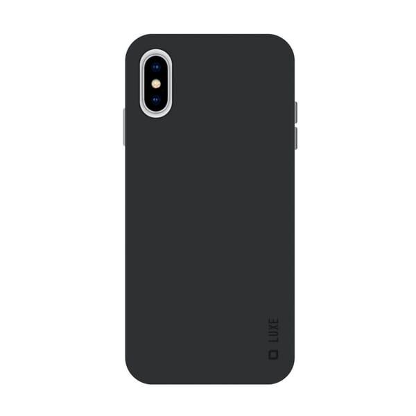 SBS Mobile Luxe Slim Cover iPhone XS Max - Zwart