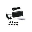 Yanec Universele Laptop AC Adapter 90W met 8 tips - Zwart