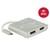 Delock USB Type-C™ Splitter (DP Alt Mode) > 1 x HDMI + 1 x D