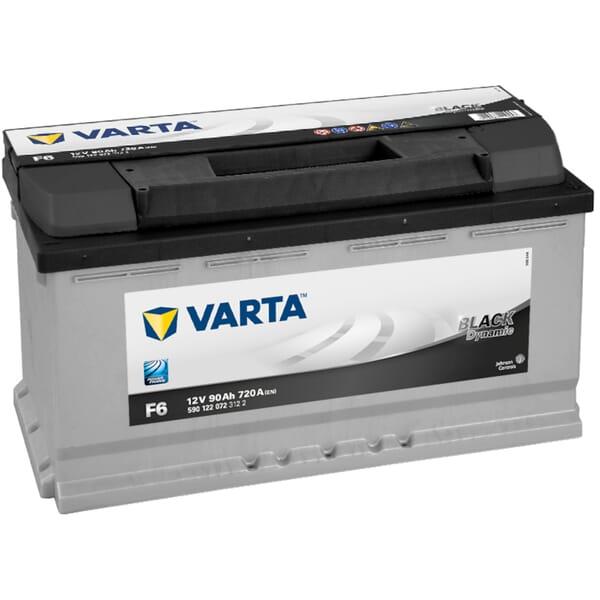 VARTA BLACK Dynamic Accu F6 12V 90Ah