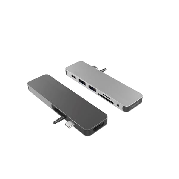 Hyper Solo Hub voor MacBook en USB-C - Space Gray