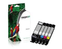 Canon PGI-570PGBK + CLI-571 Schwarz und Farbe(5-Pack)(Yanec)