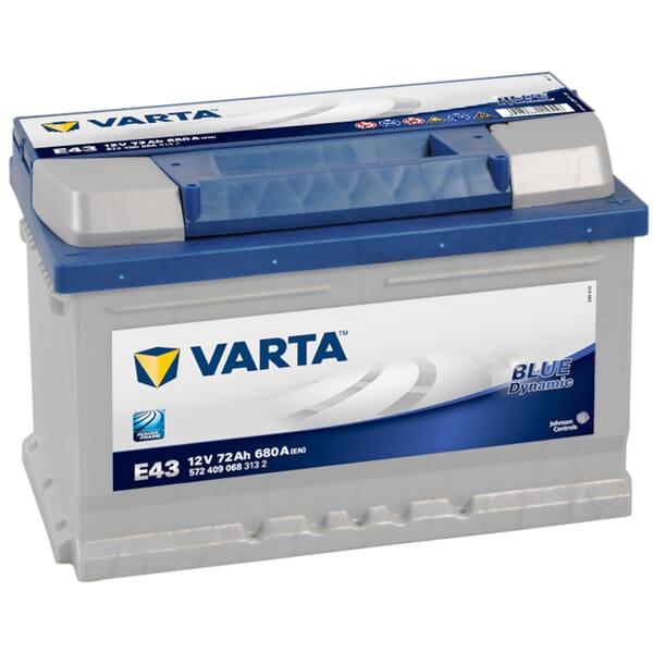 VARTA BLUE Dynamic Accu E43 12V 72Ah