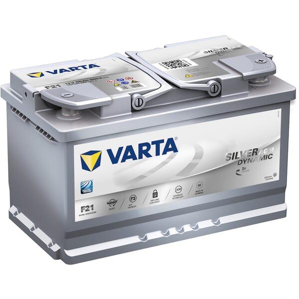 VARTA Accu Silver Dynamic AGM F21 12V 80Ah