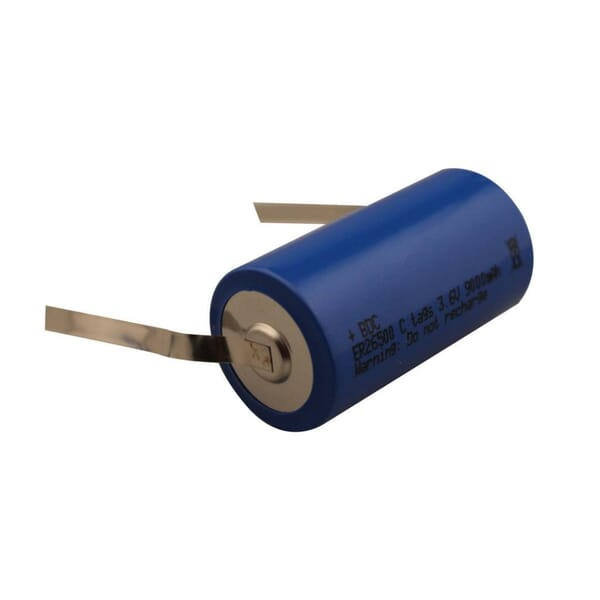 Lithium batterij C U-tags 3.6V
