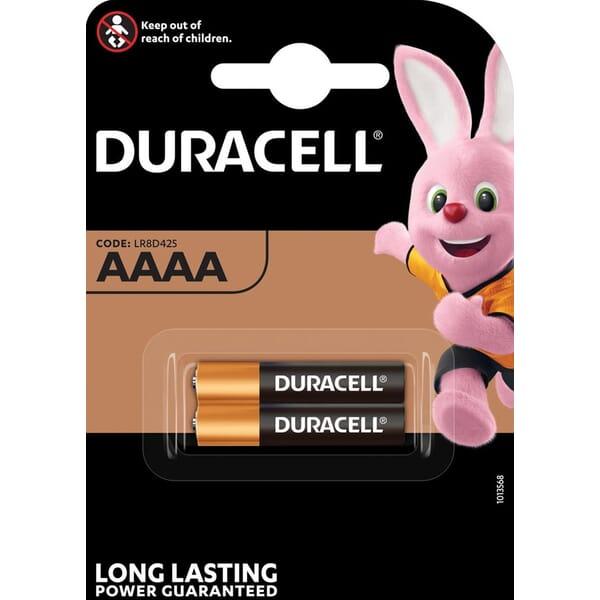 Duracell Plus Power Duralock Alkaline AAAA/MX2500 blister 2
