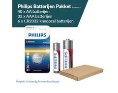 Philips Batterijen Pakket 40x AA, 32x AAA, en 6x CR2032