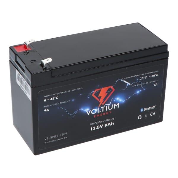 Voltium Energy LiFePO4 Akku 12,8V - 9Ah