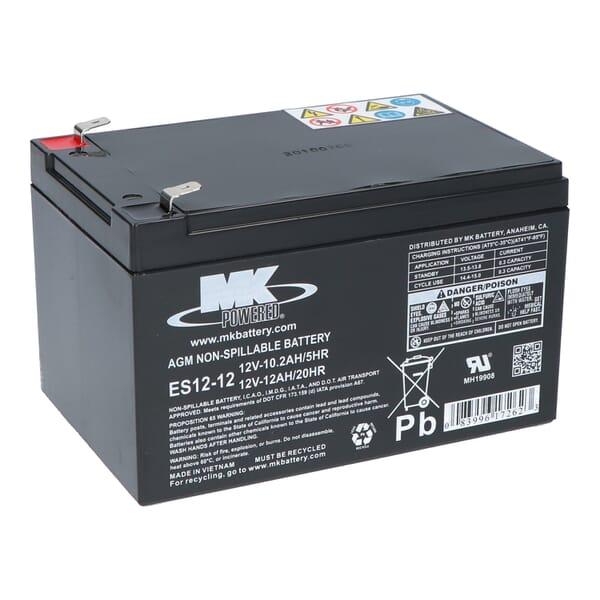 MK AGM Accu ES12-12 12V 12Ah