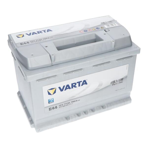 VARTA SILVER Accu dynamic E44 12V 77Ah