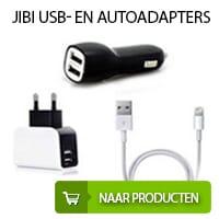 Jibi USB- en Autoadapters