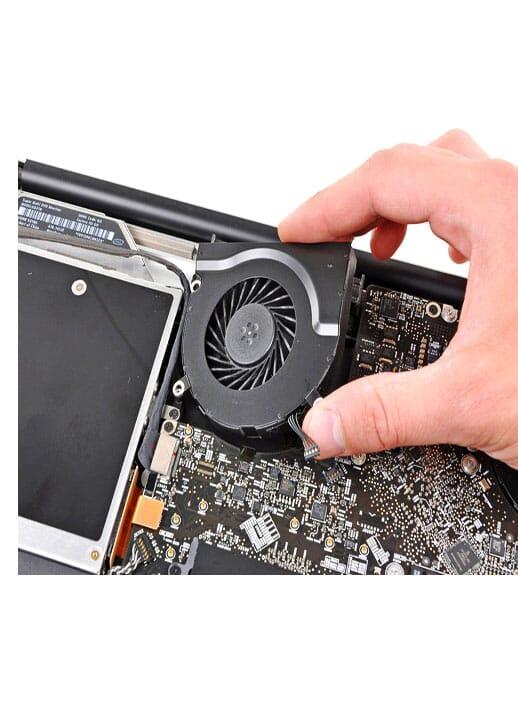 laptop cpu koeler vervangen