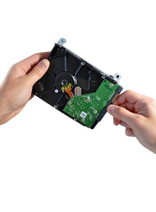 laptop harde schijf vervangen