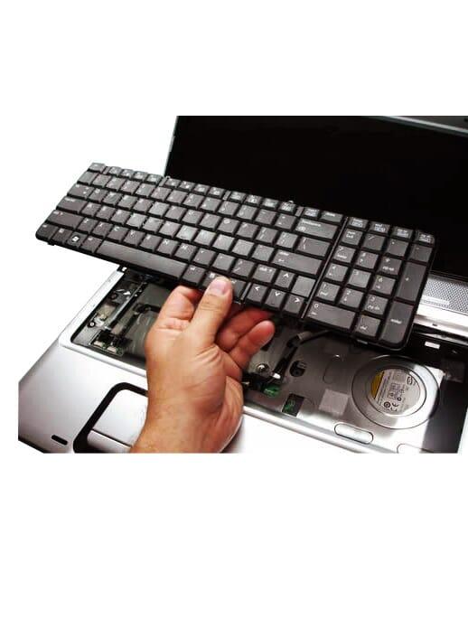 laptop toetsenbord vervangen