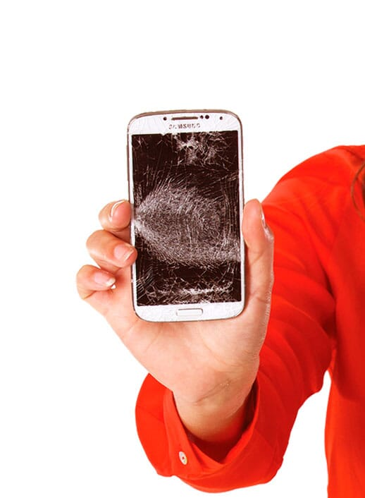 telefoon scherm vervangen