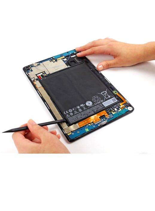tablet accu batterij vervangen