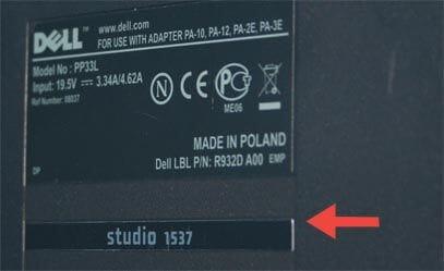 Dell Modellnummern