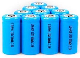 Lithium-ferro batterijen