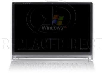 defect LCD beeldscherm: beeld blijft donker