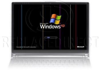defect LCD beeldscherm: rode gloed