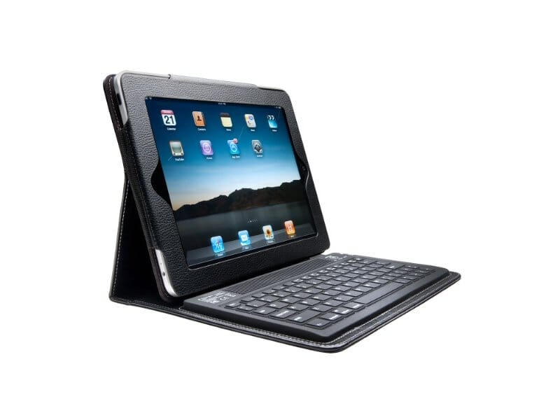 iPad case met toetsenbord
