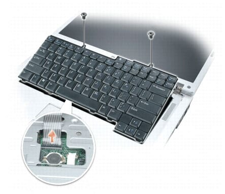 Keyboard vervangen